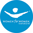 BlackRock Philanthropy: Women for Women logo