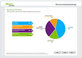 Build a minimum volatility portfolio