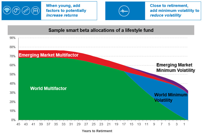Factors in Life Cycle Investing